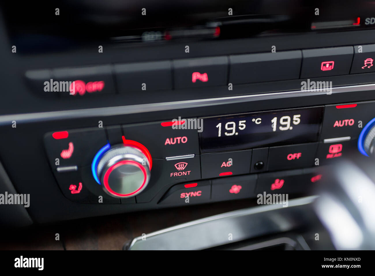 Vehicle Control Panel : Car control panel stock photos
