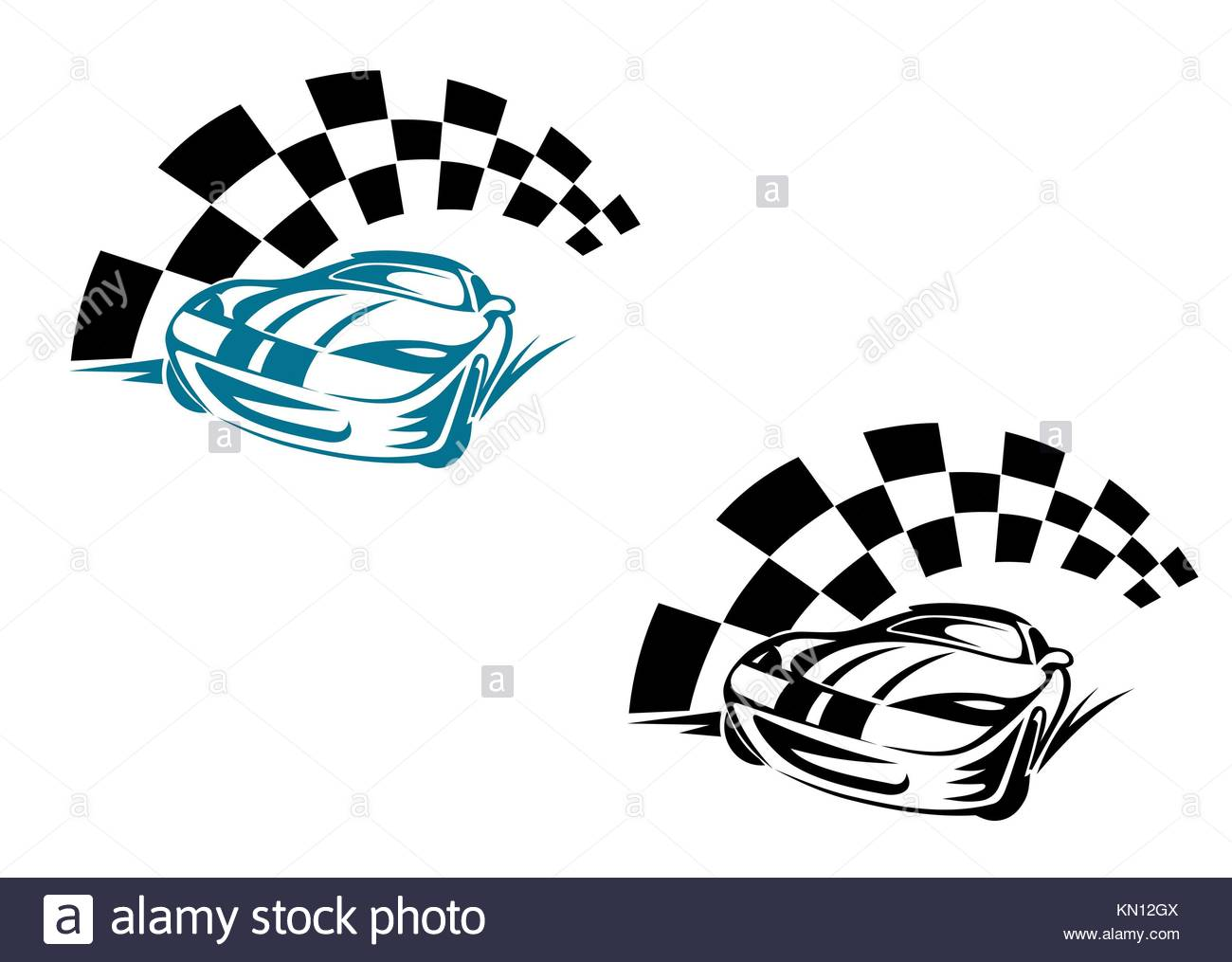 Rally cars cut out stock images pictures alamy racing cars and symbols for sports or tattoo design stock image biocorpaavc