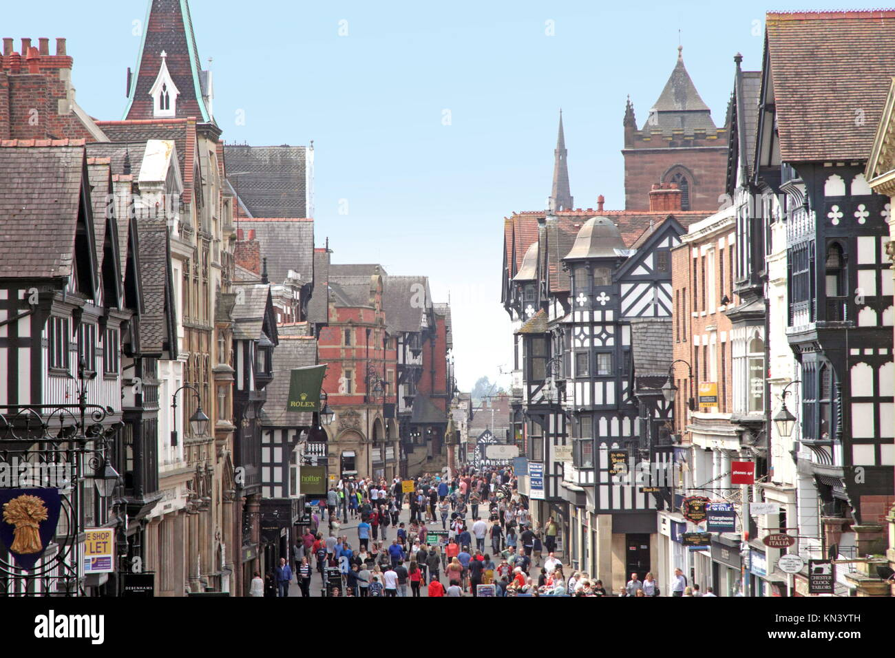 chester uk april 21 chester is arguably the richest city in britain