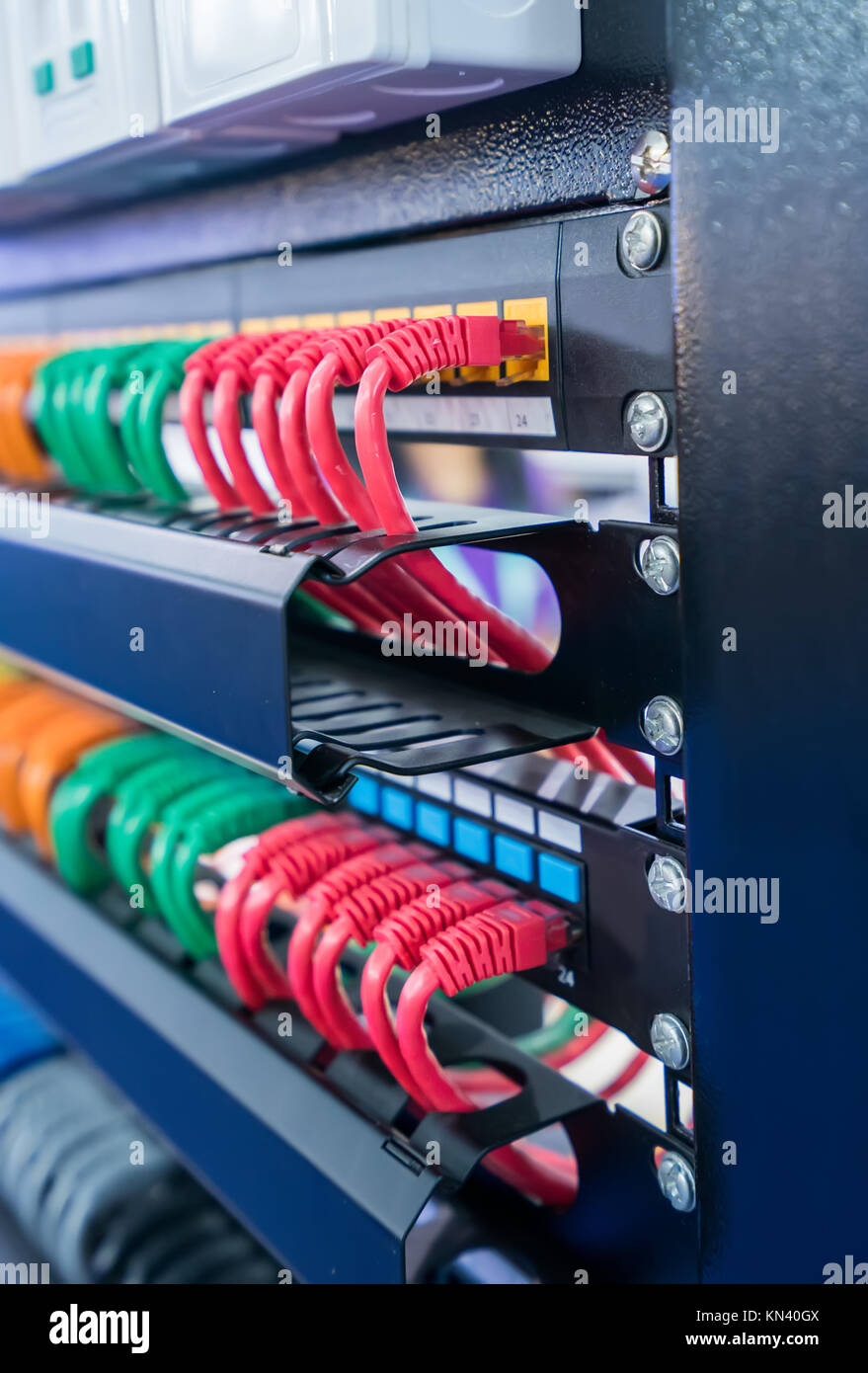 patch cable storage