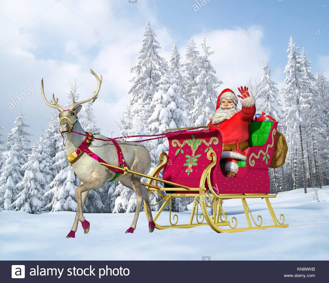 how to build a santa claus sleigh