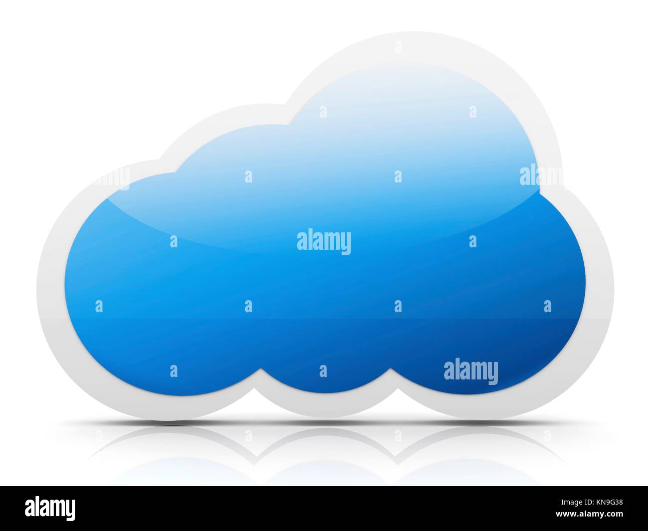 A cloud symbol 3d rendered illustration stock photo royalty free a cloud symbol 3d rendered illustration biocorpaavc Gallery