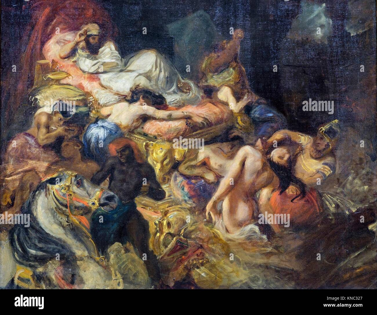 delacroix death of sardanapalus