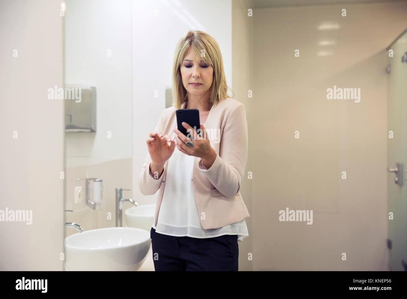 Bathroom Mature Photo Woman