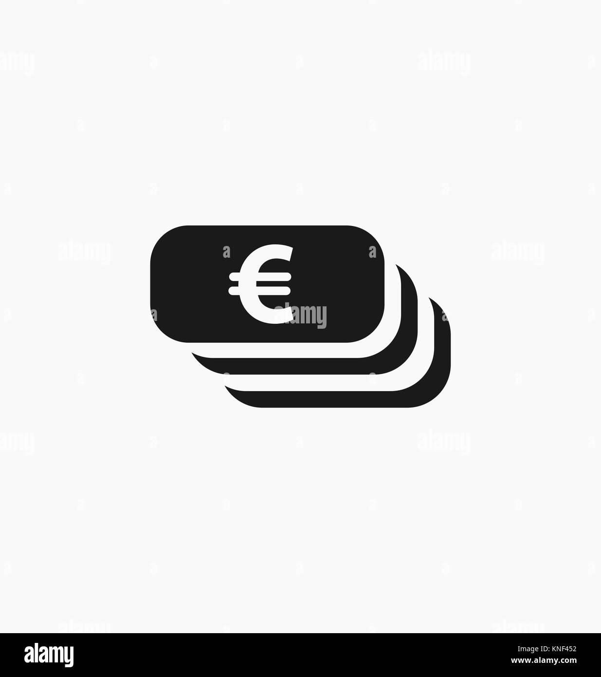 Euro symbol european currency icon stock vector art euro symbol european currency icon biocorpaavc