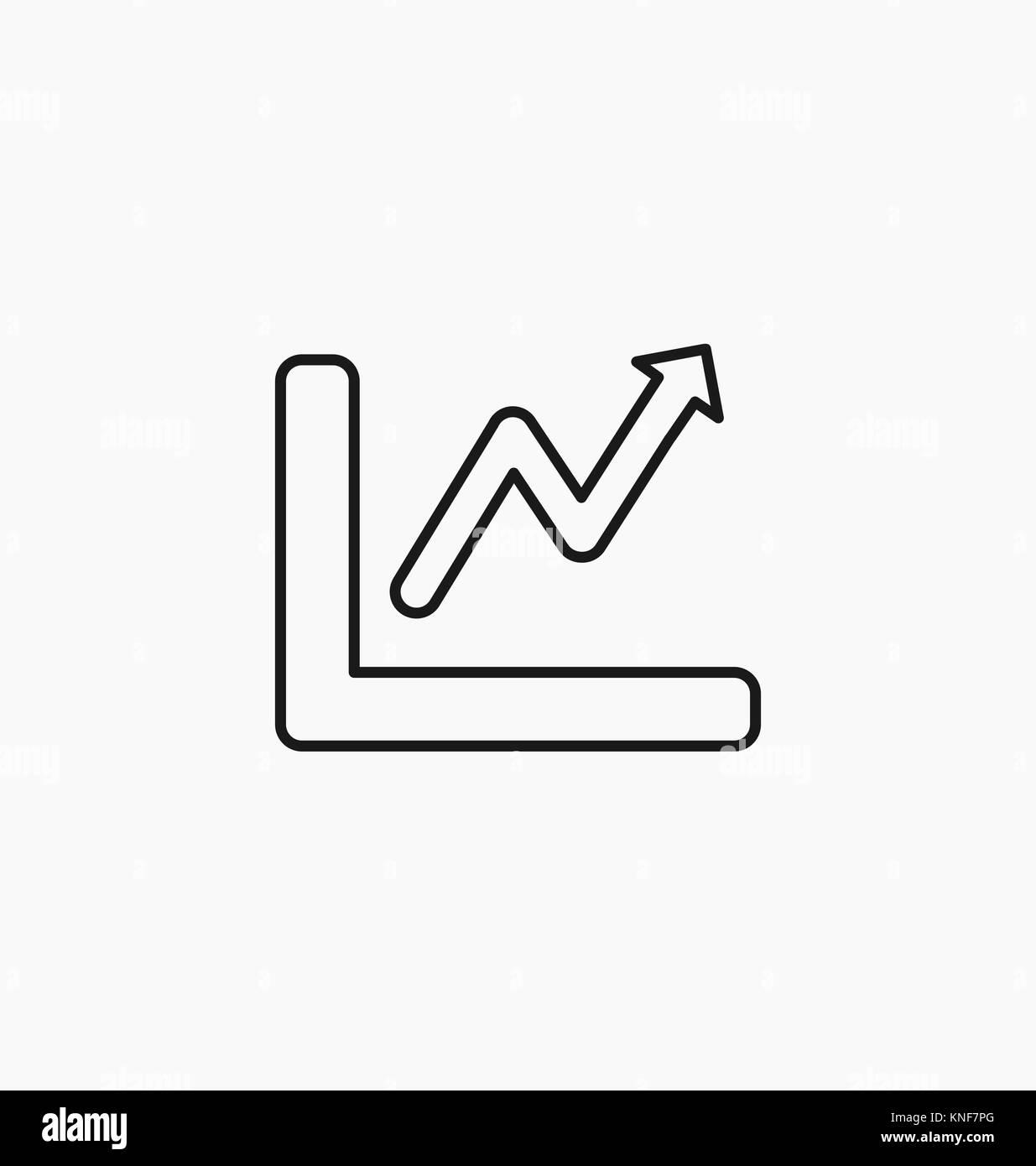 Chart Icon Bar Symbol For Web Site Design Logo App Ui Vector