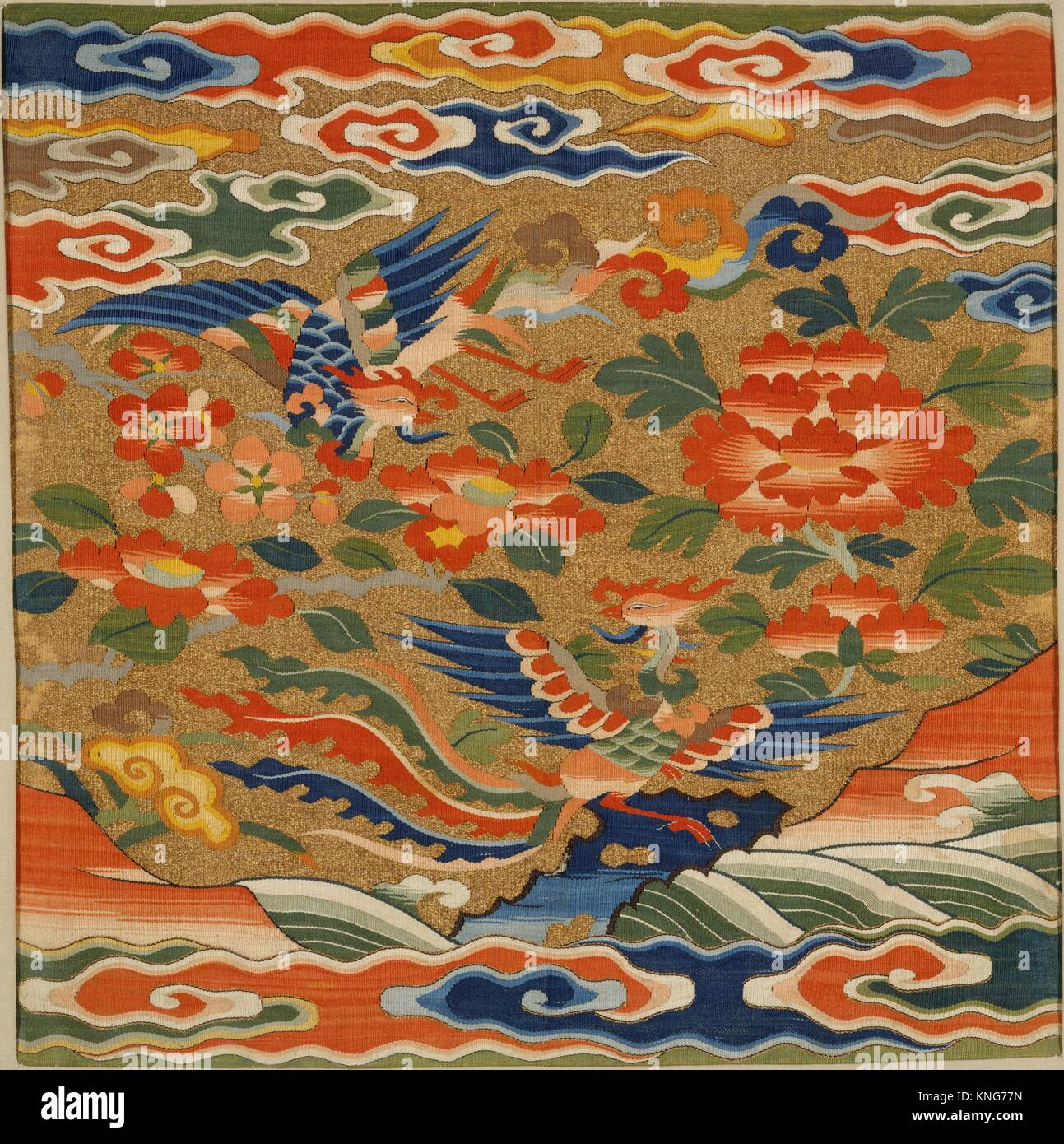 Period: Ming dynasty (1368-1644); Date: 16th century; Culture: China;  Medium: Silk and metallic thread tapestry (kesi);