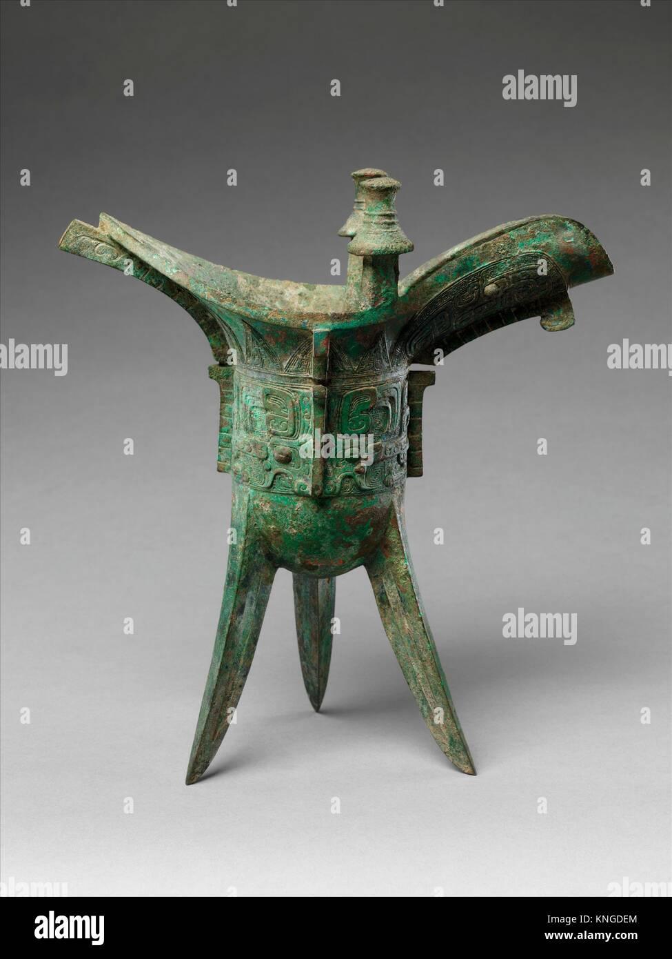 ritual wine vessel jue period western zhou dynasty period western zhou dynasty 1046 771 bc date late 11th century bc culture china medium bronze buycottarizona Choice Image
