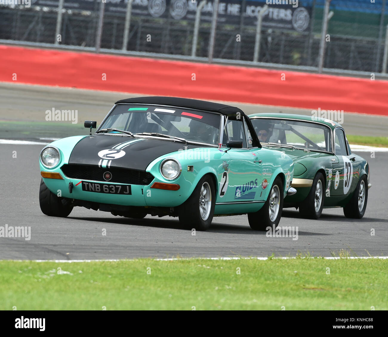 Ian Jacobs Fiat 124 Spider Historic Road Sports Hscc Silverstone
