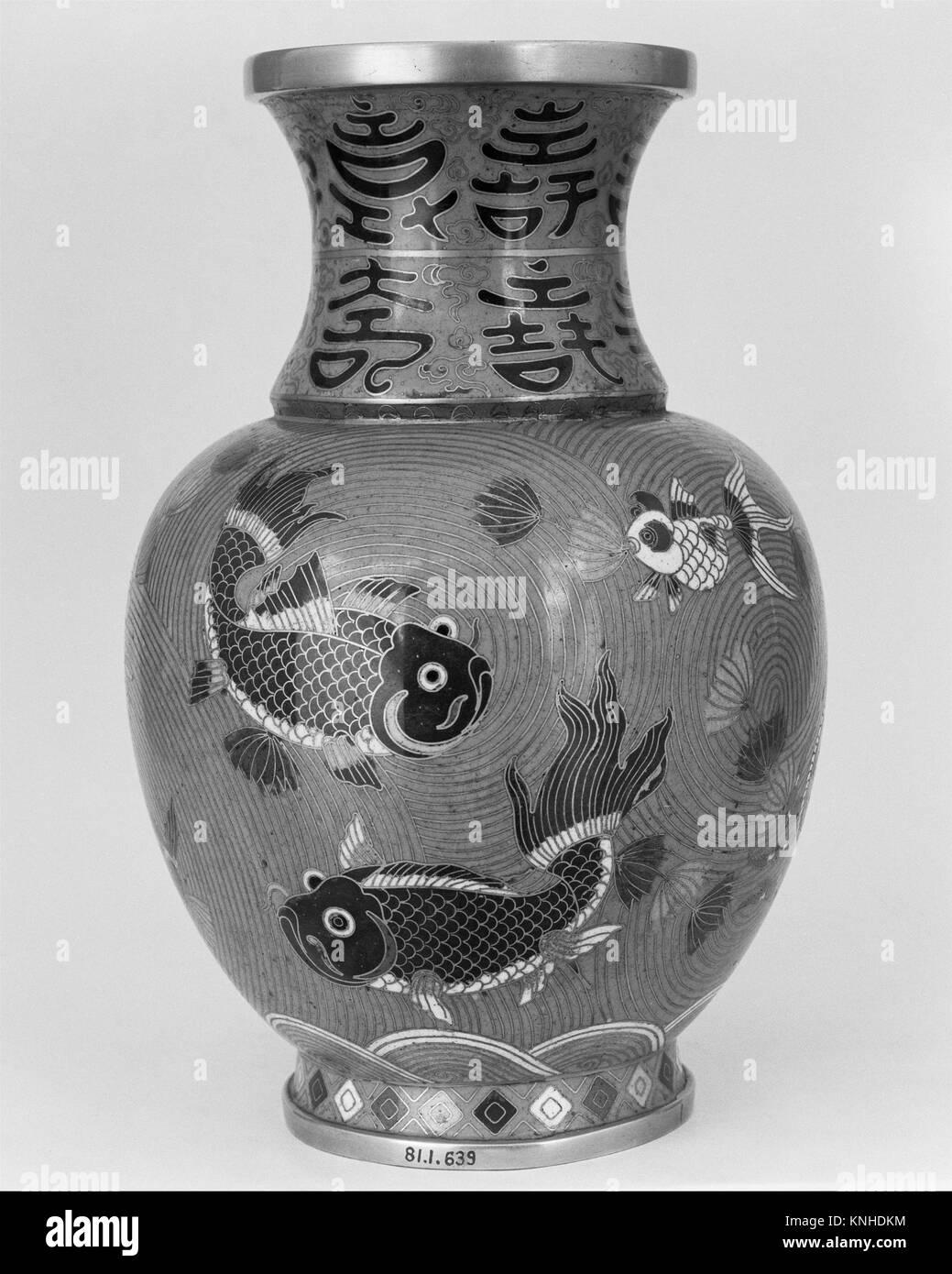Cloisonne vase stock photos cloisonne vase stock images alamy vase date 19th century culture japan medium cloisonn enamel reviewsmspy