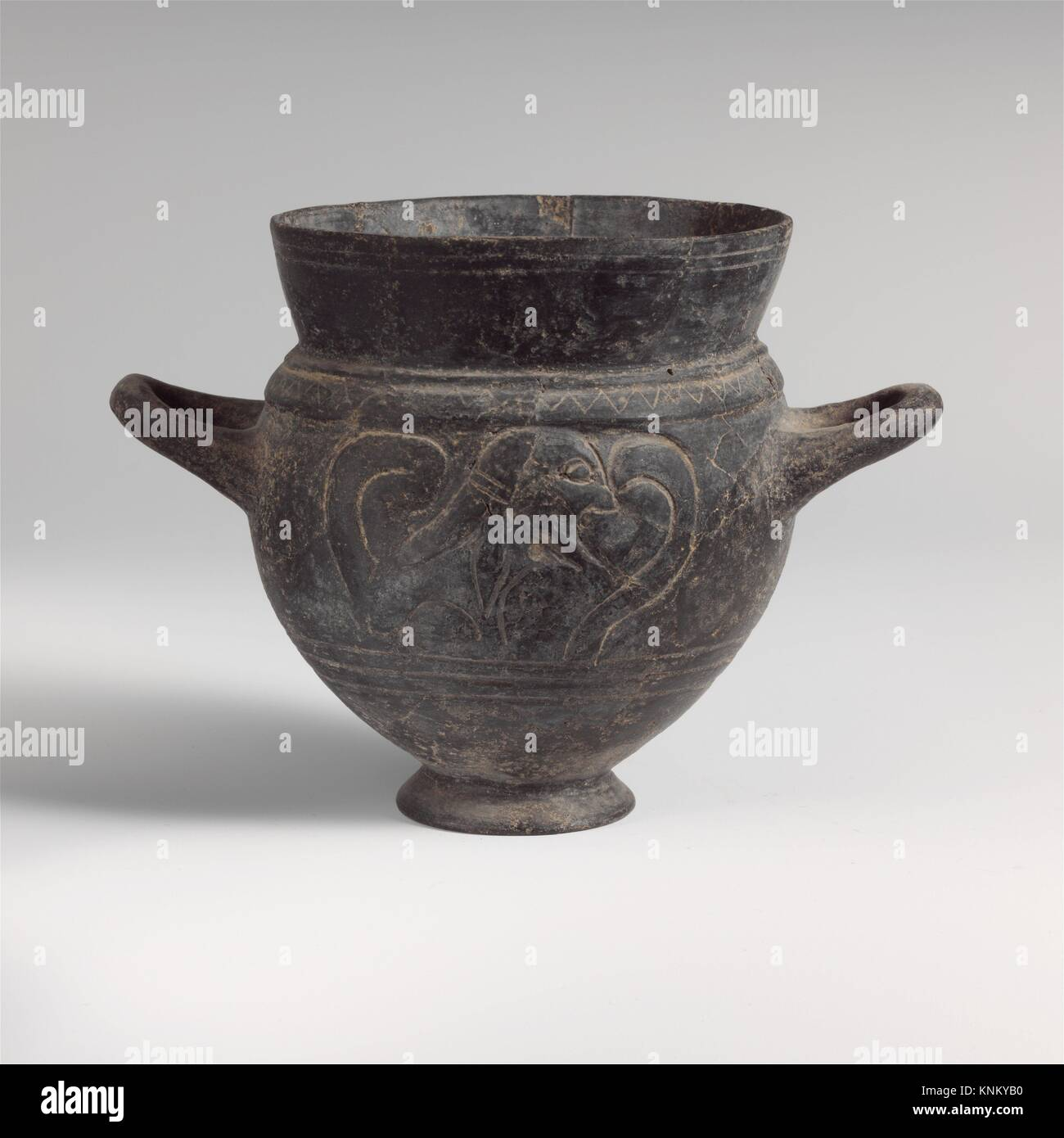 Terracotta two handled vase stock photos terracotta two handled terracotta drinking cup with two handles period archaic date ca 550 reviewsmspy