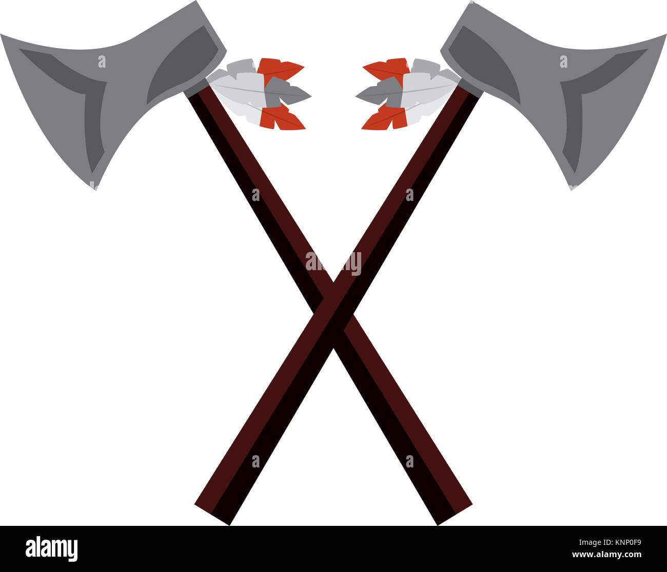 Native american indian cut out stock images pictures alamy crossed pair axe native american indian weapon stock image buycottarizona