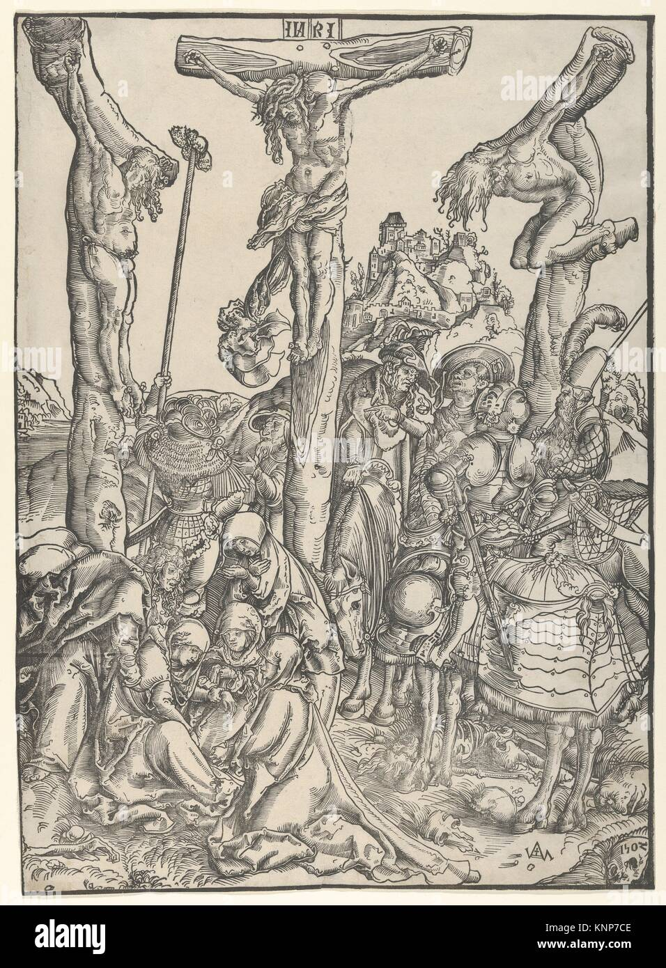 Artist: Lucas Cranach the Elder (German, Kronach 1472-1553 Weimar); Date:  1502; Medium: Woodcut; Dimensions: sheet: 16-1/8 x 11-1/2
