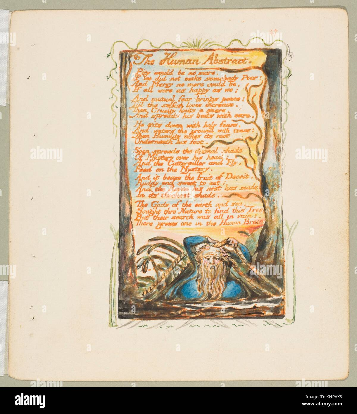 Songs Of Innocence And Of Experience The Human Abstract Artist