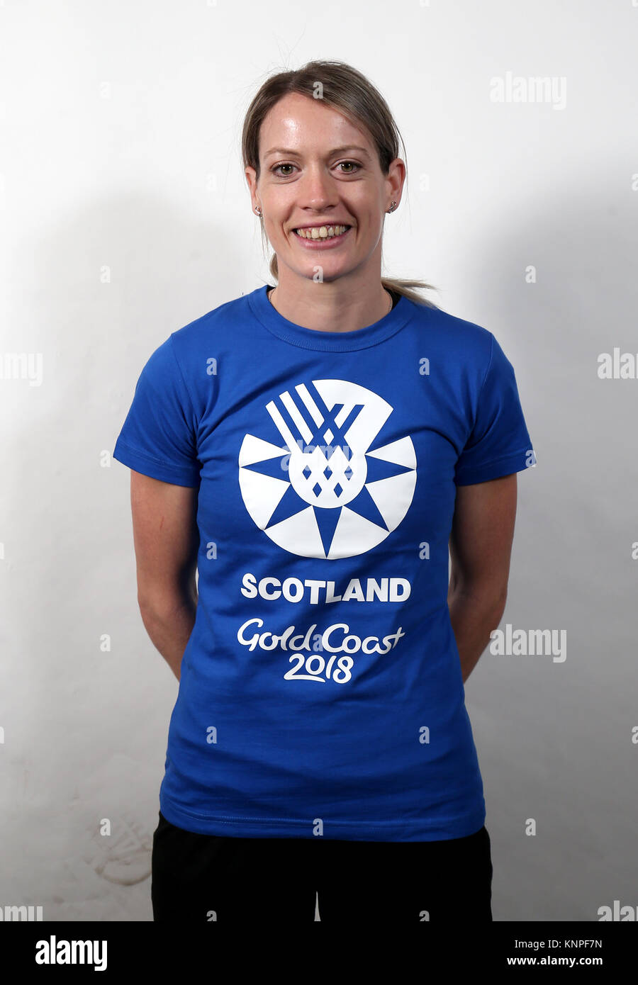 Eilidh Doyle during the Team Scotland track and field ...