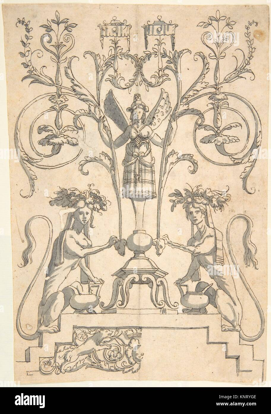 Grotesque stock photos grotesque stock images page 11 alamy candelabra grotesque with a winged female term on a pedestal artist anonymous italian biocorpaavc