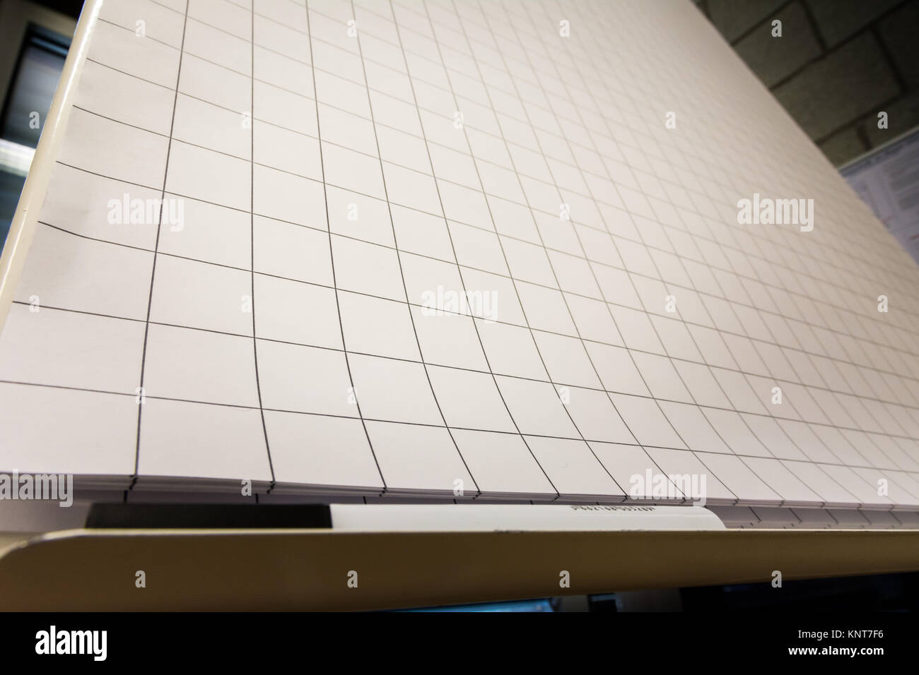 grid paper flipchart large sheets brainstorming empty blank black