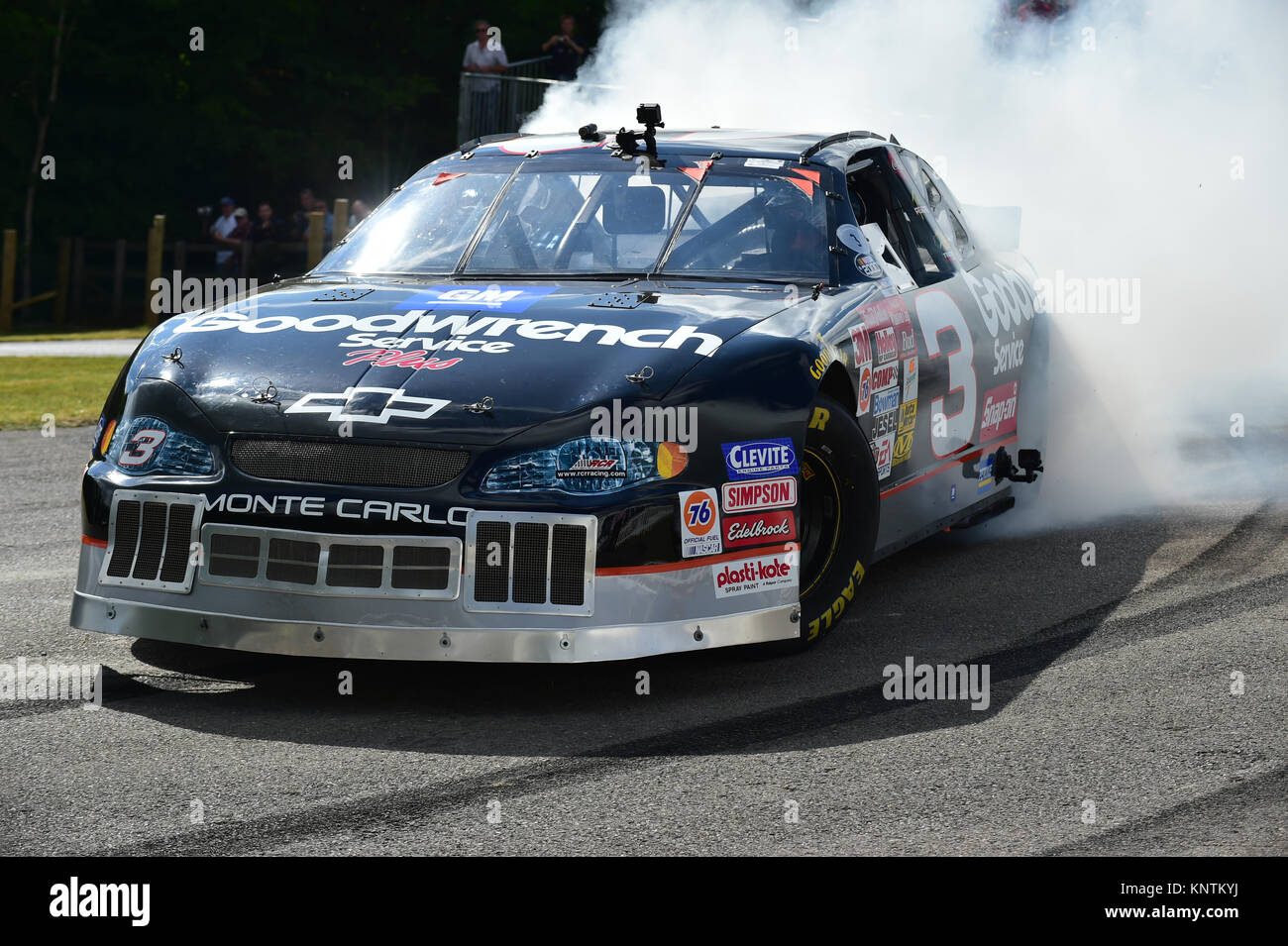Kerry Earnhardt, Chevrolet Monte Carlo, Goodwood Festival Of Speed, 2014,  2014, Autosport, Burn Out, Cars, Chevrolet Monte Carlo, Classic Cars, Famous