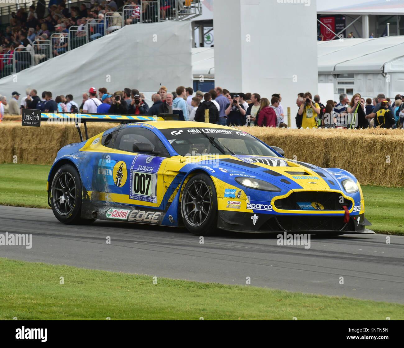 Aston Martin V12 Vantage Gt3 Goodwood Festival Of Speed 2014 2014