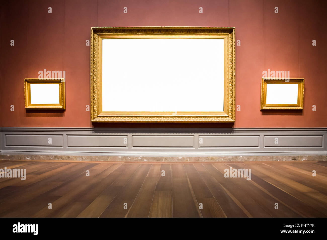 Three ornate picture frames art gallery museum exhibit blank white three ornate picture frames art gallery museum exhibit blank white isolated clipping path jeuxipadfo Gallery