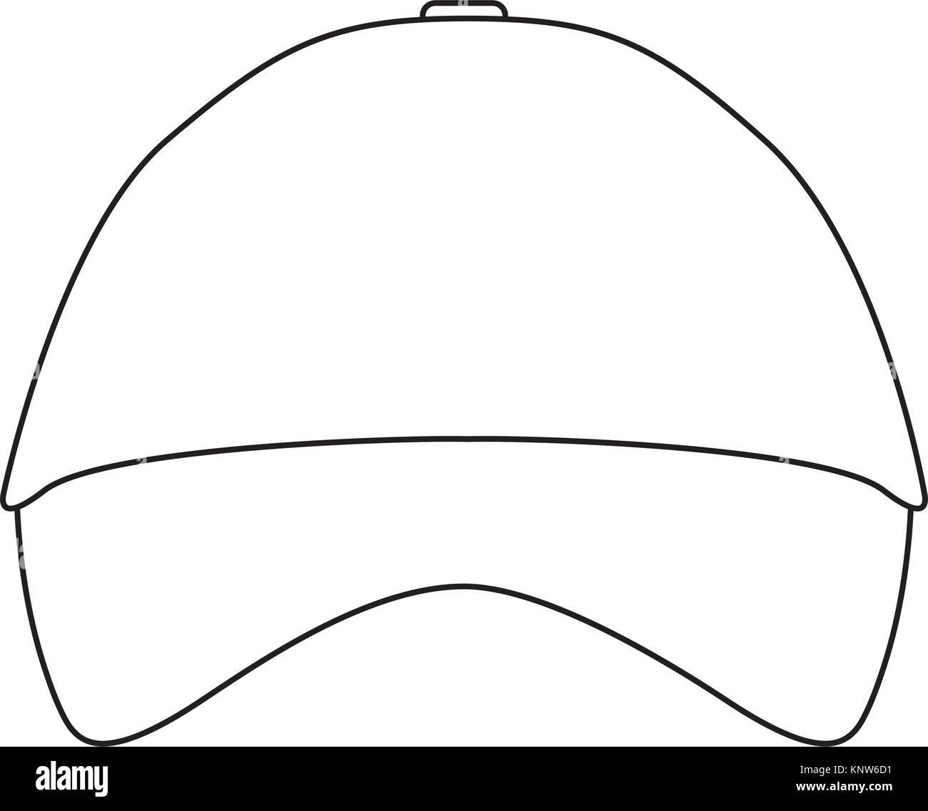 promotional souvenir baseball cap identity corporate empty template