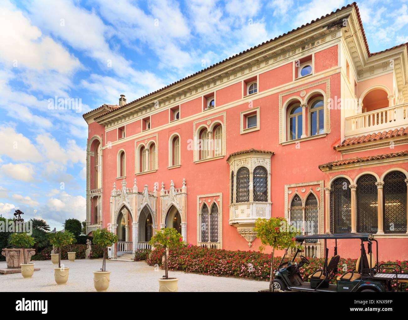Villa Ephrussi Rothschild Stock Photos Villa Ephrussi