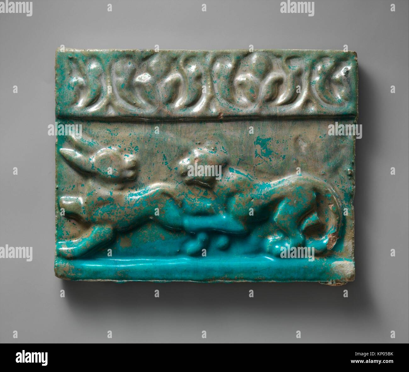 Ceramic tile museum stock photos ceramic tile museum stock tile from a frieze object name tile from a frieze date 13th dailygadgetfo Gallery