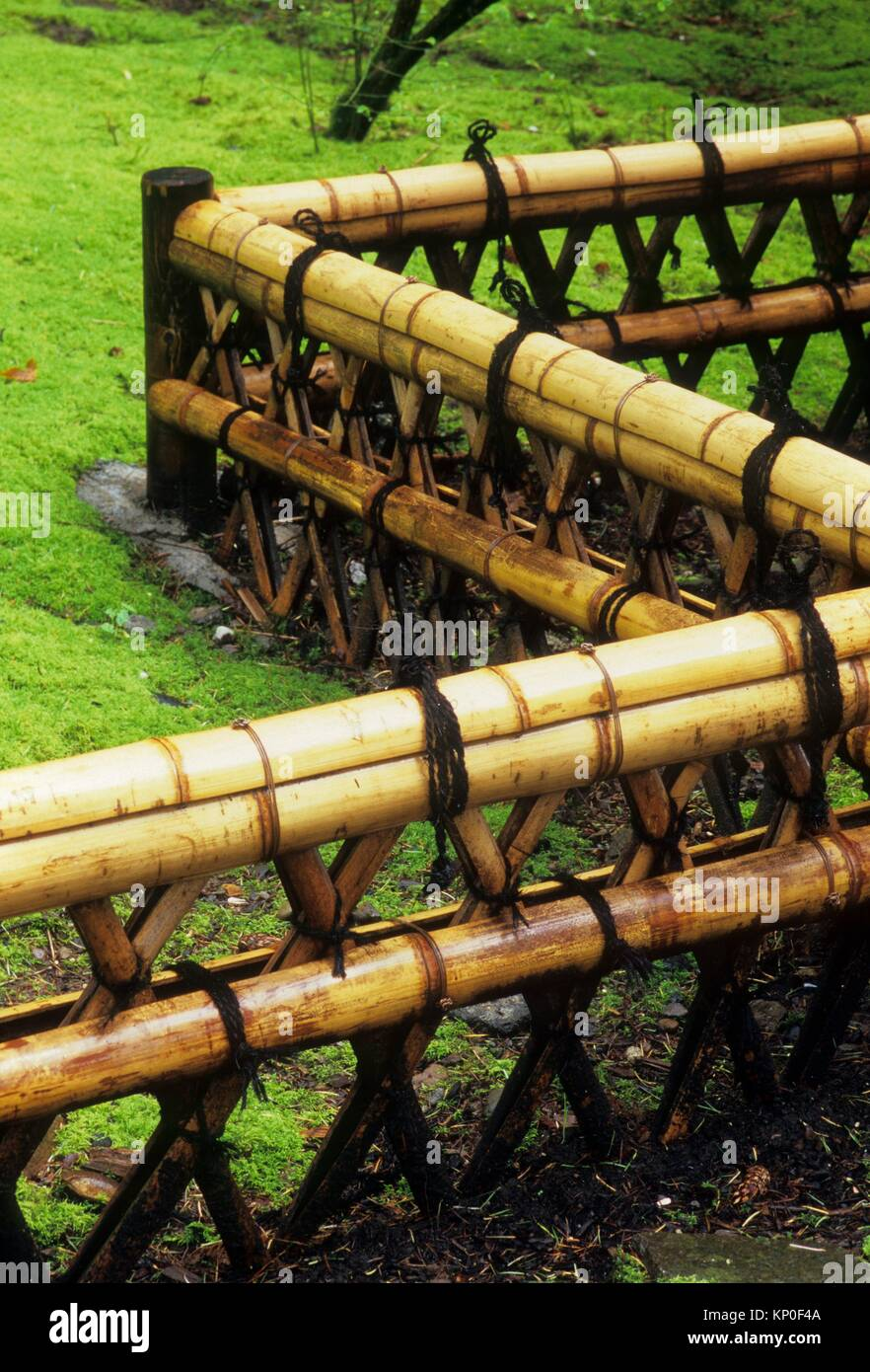 Japanese Garden Fence, Washington Park, Portland, Oregon