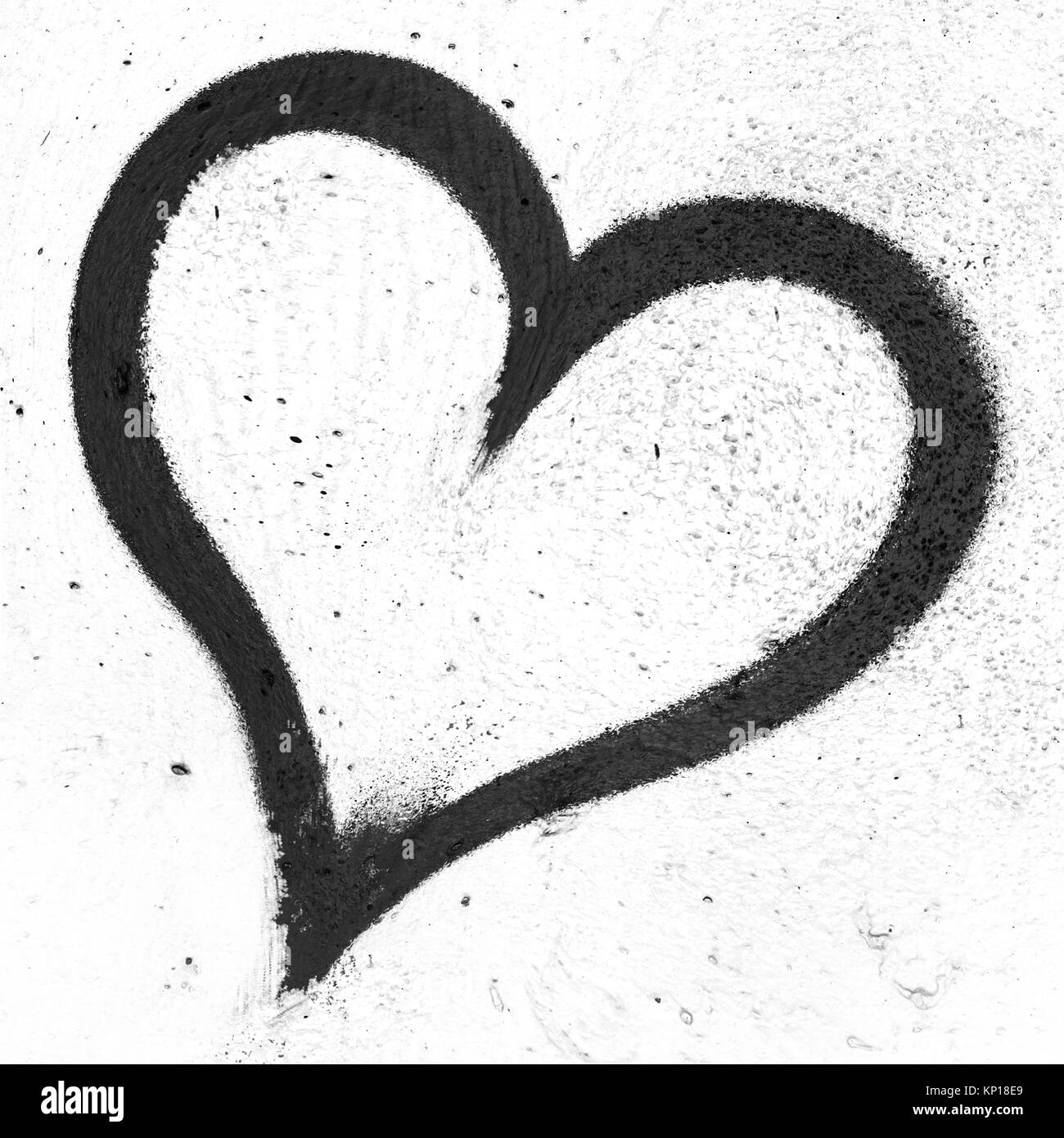 Concept or conceptual painted black abstract heart shape love concept or conceptual painted black abstract heart shape love symbol dirty wall background metaphor biocorpaavc Choice Image