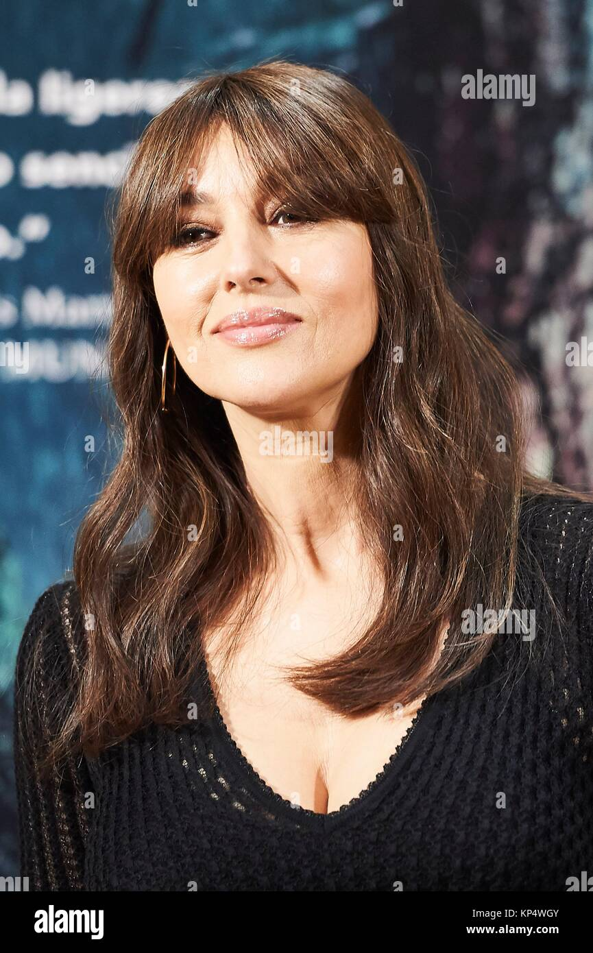 Monica bellucci on the milky road photocall at urso hotel in madrid