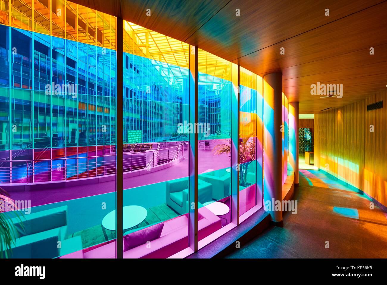 Hotel corridor design stock photos hotel corridor design for Hotel jardines de uleta vitoria