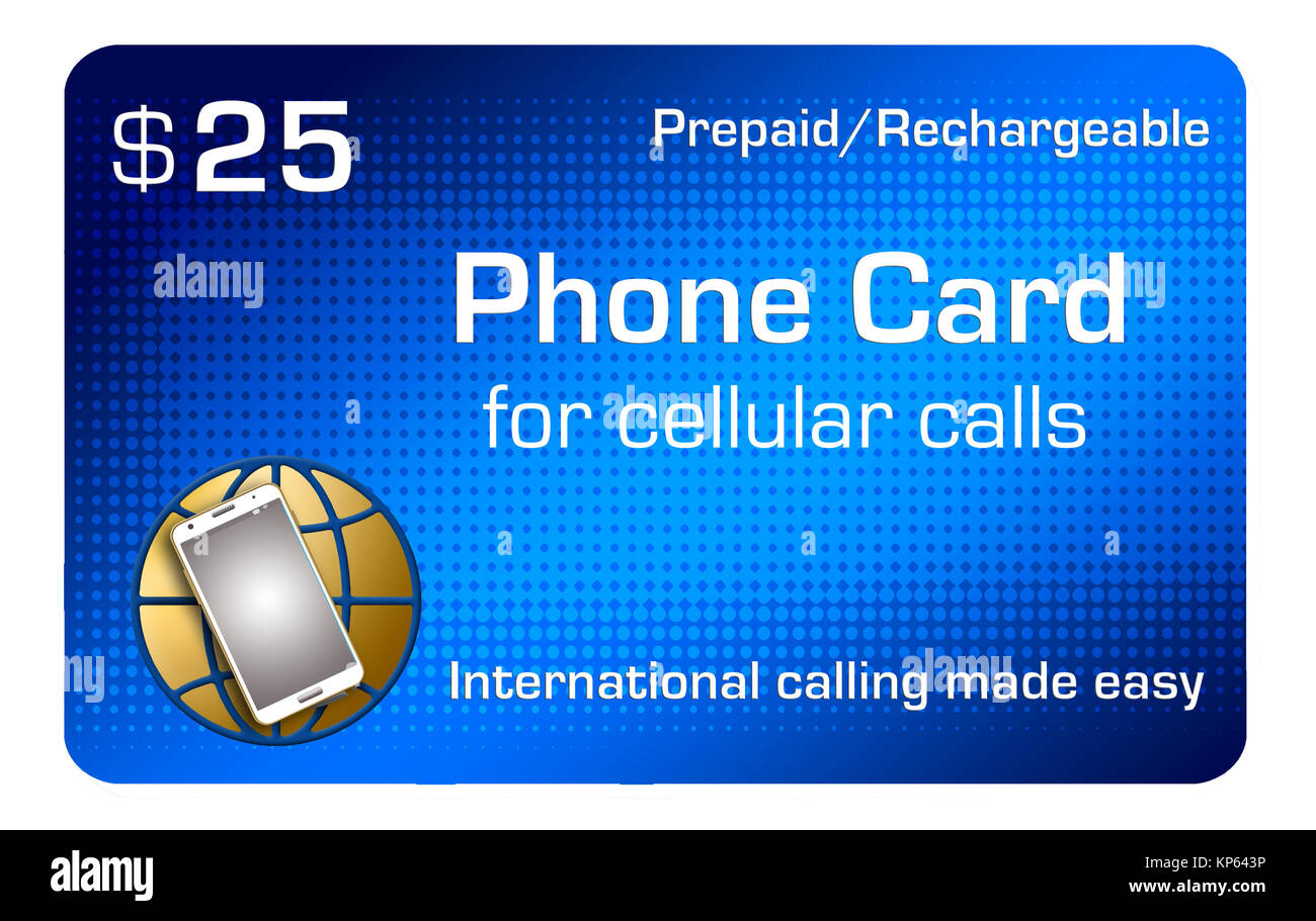 this is an illustration to go with a story about using your cellular phone for international calling includes four cell phones and a world map sprea - Phone Card For International Calls