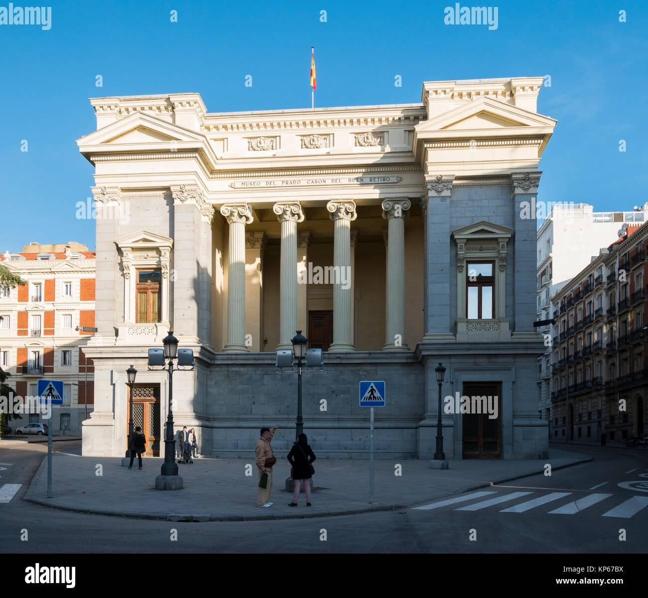 Prado Museum In Madrid Spain Stock Photos Prado Museum