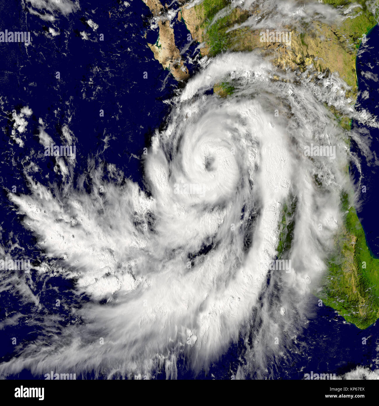 Hurricane Patricia Stock Photo 168553362 Alamy