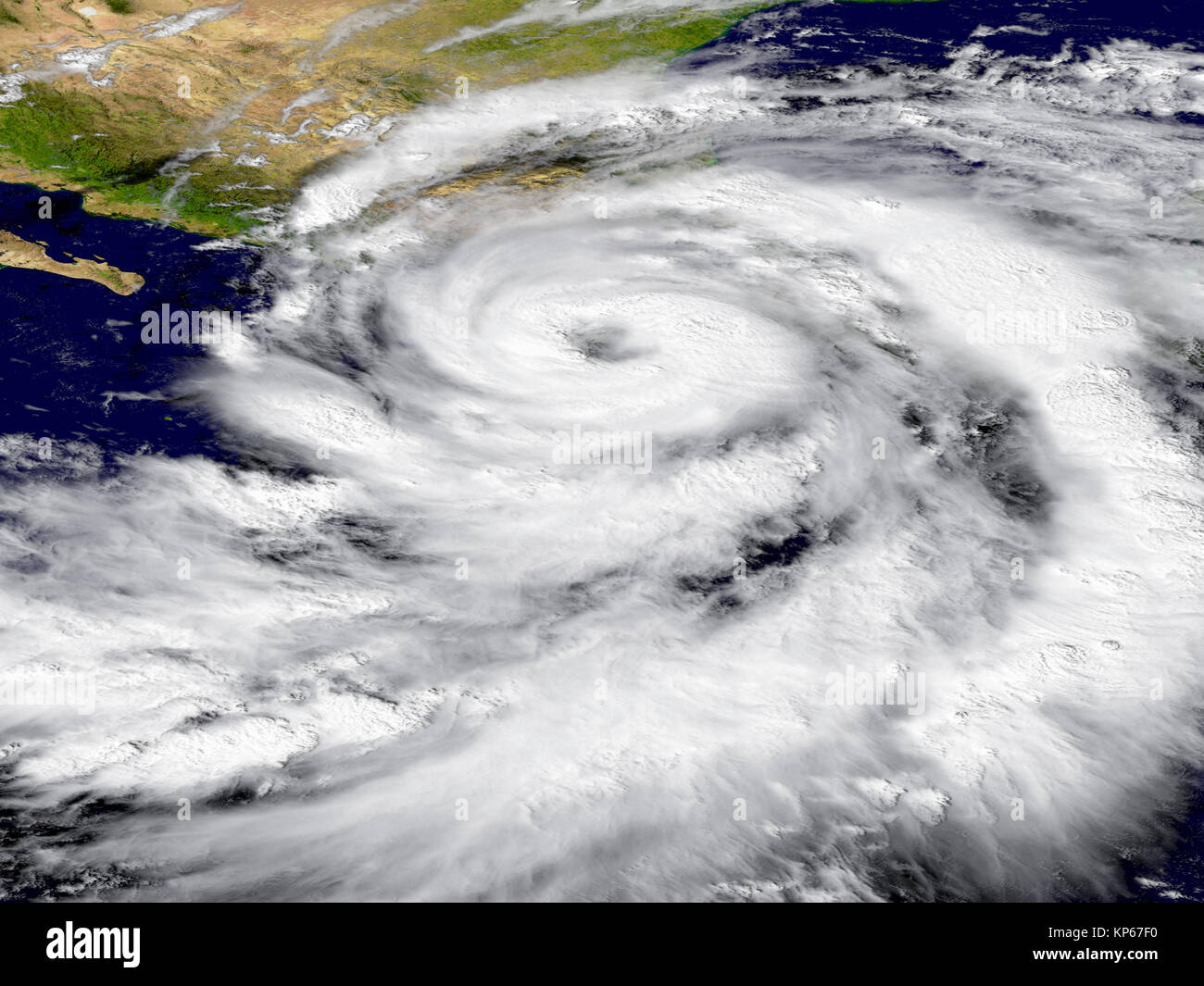 Hurricane Patricia Stock Photo 168553364 Alamy