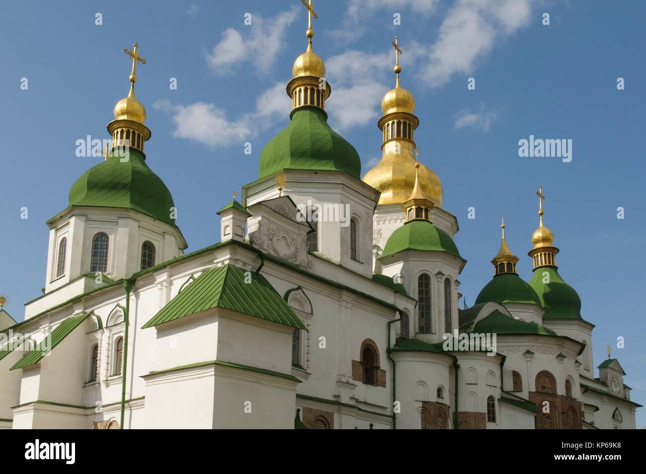 St. Sophia Cathedral in Kiev - cultural heritage of Ukraine