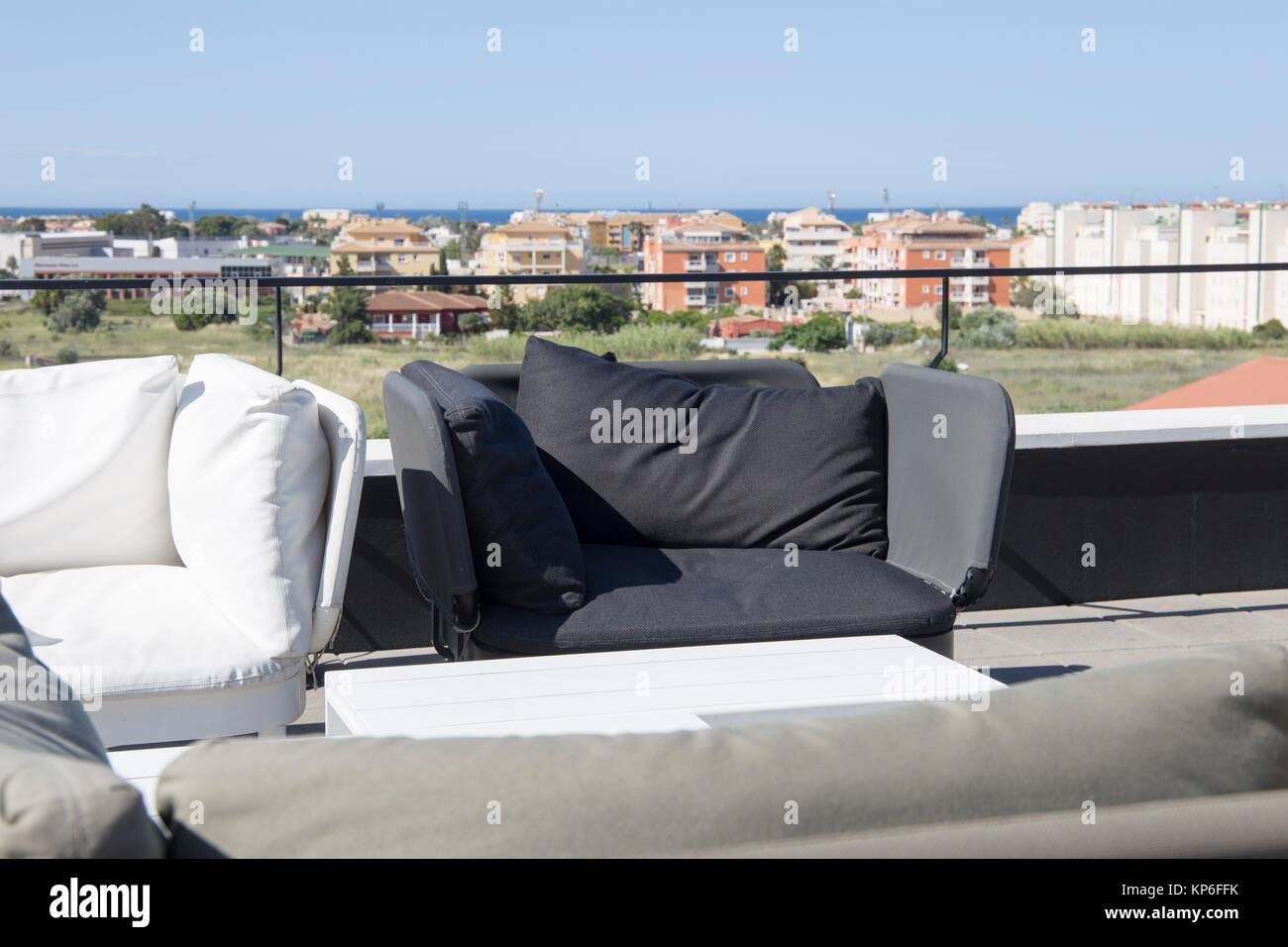 Denia spain stock photos denia spain stock images alamy for Outdoor furniture javea