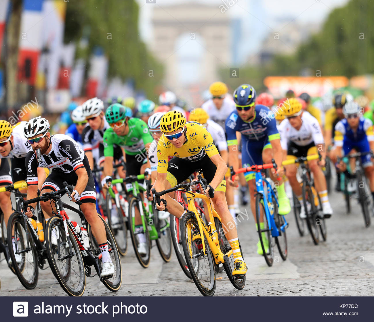 file photo dated 23 07 2017 of team sky s chris froome centre
