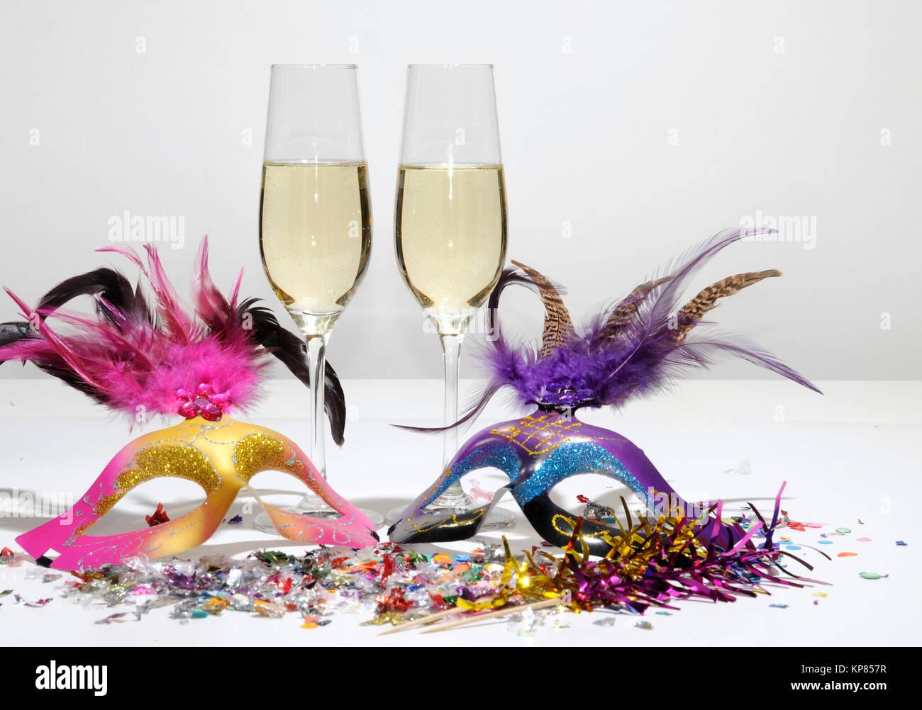 sekt silvester neujahr sektgl ser jubil um flasche champagner stock photo royalty free. Black Bedroom Furniture Sets. Home Design Ideas