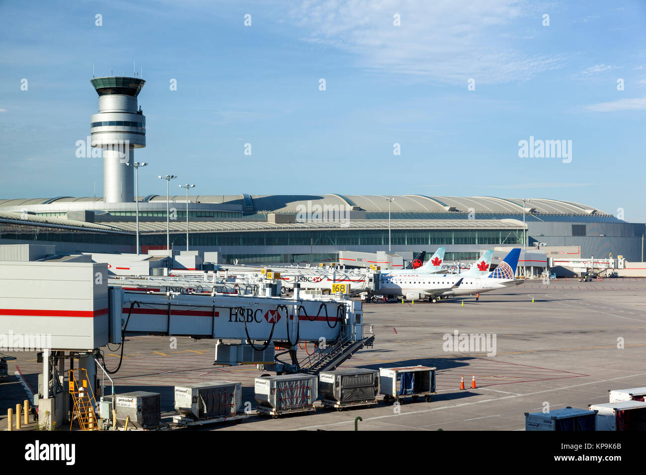 Toronto Pearson International Airport (YYZ IATA) is in Mississauga near Toronto. As Canada's busiest airport, it handled million passengers in