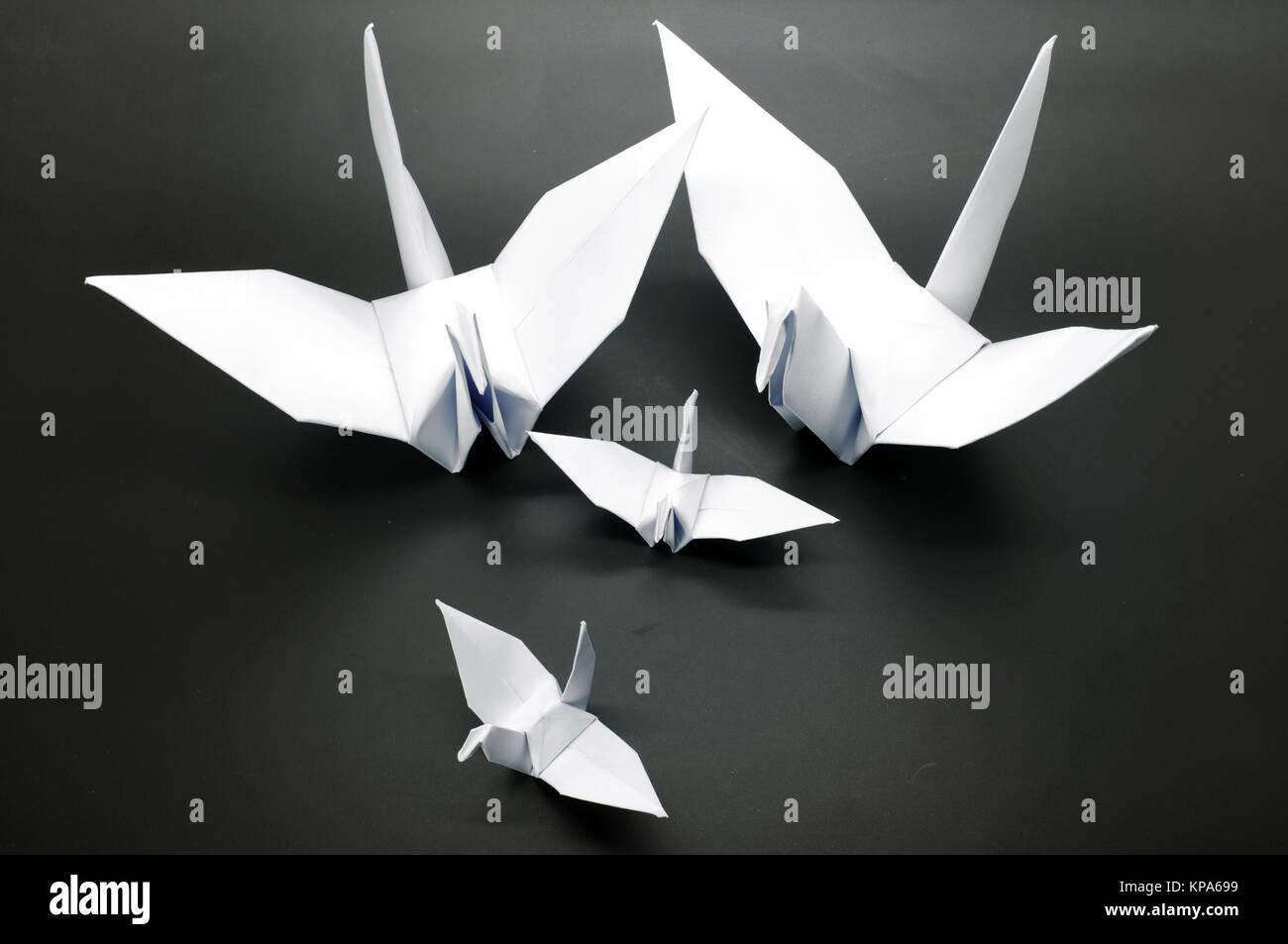 origami crane flying stock photos amp origami crane flying