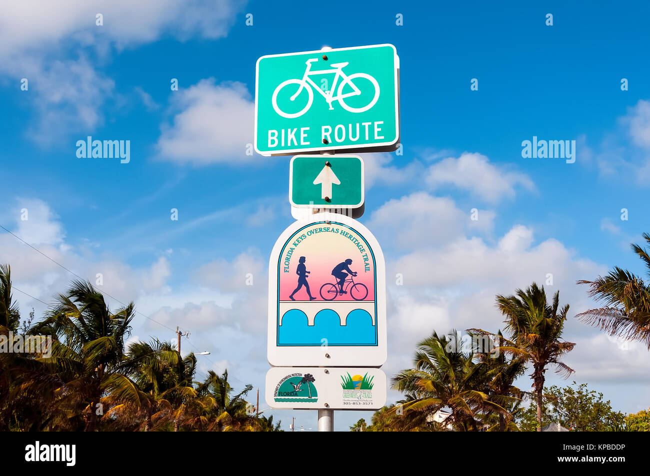 Overseas highway stock photos overseas highway stock for Key west bike trails