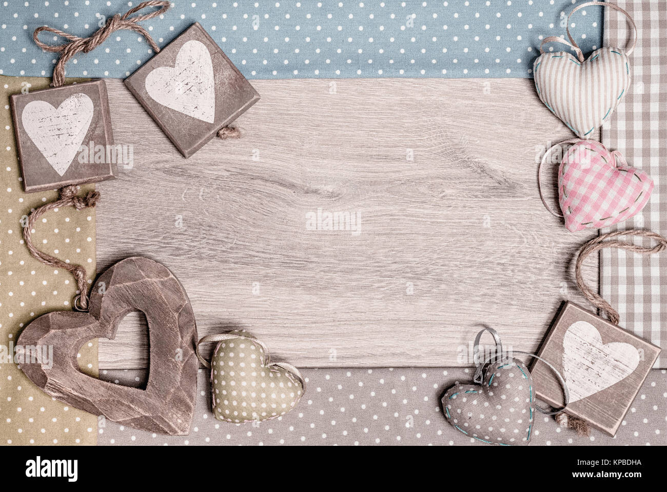 Wooden frame with hearts for st valentine mothers day or wooden frame with hearts for st valentine mothers day or farthers day greeting cards or borders space for your text this image is toned kristyandbryce Image collections