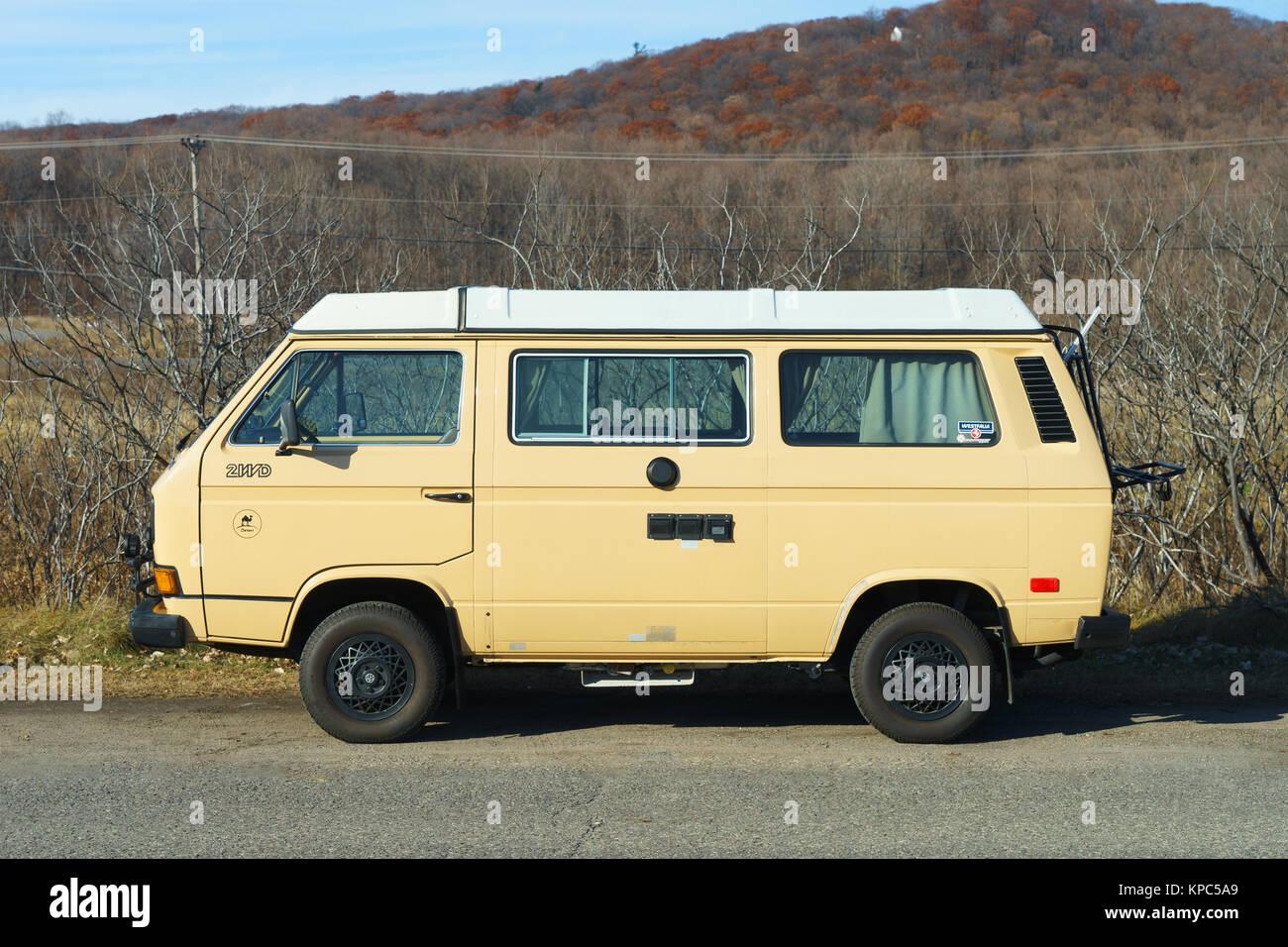 Volkswagen Camper Van 1980s Style