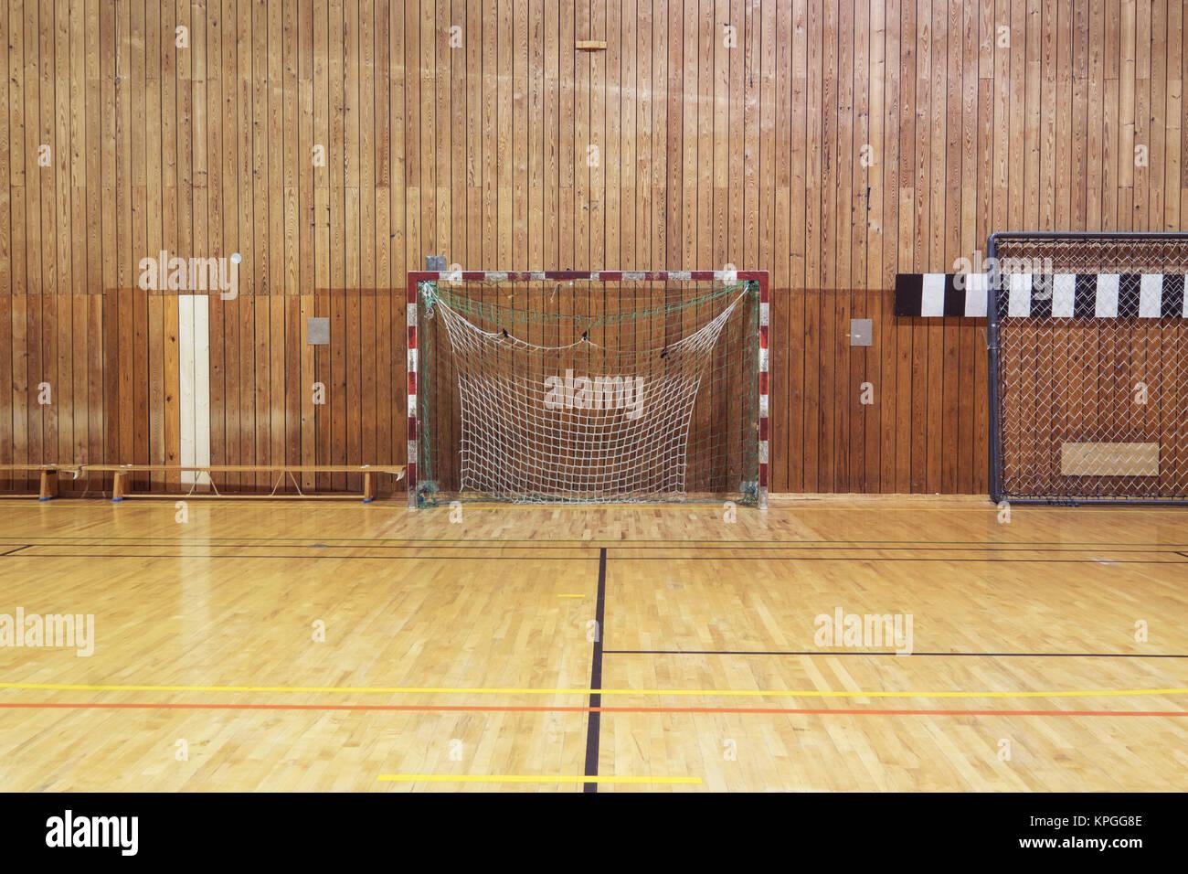 Retro Indoor Soccer Goal