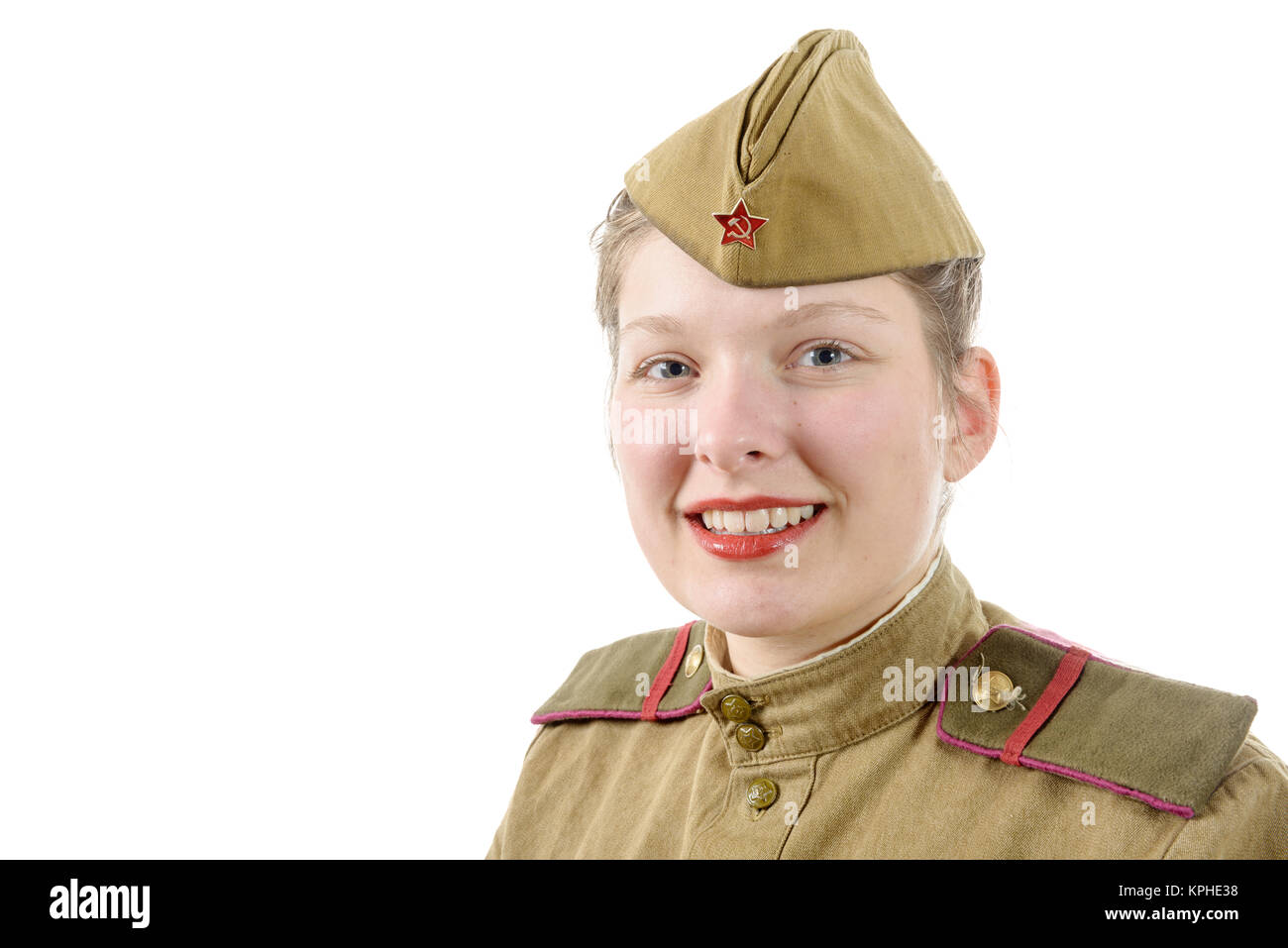 Smiling Russian Army Soldier Stock Photos & Smiling ...