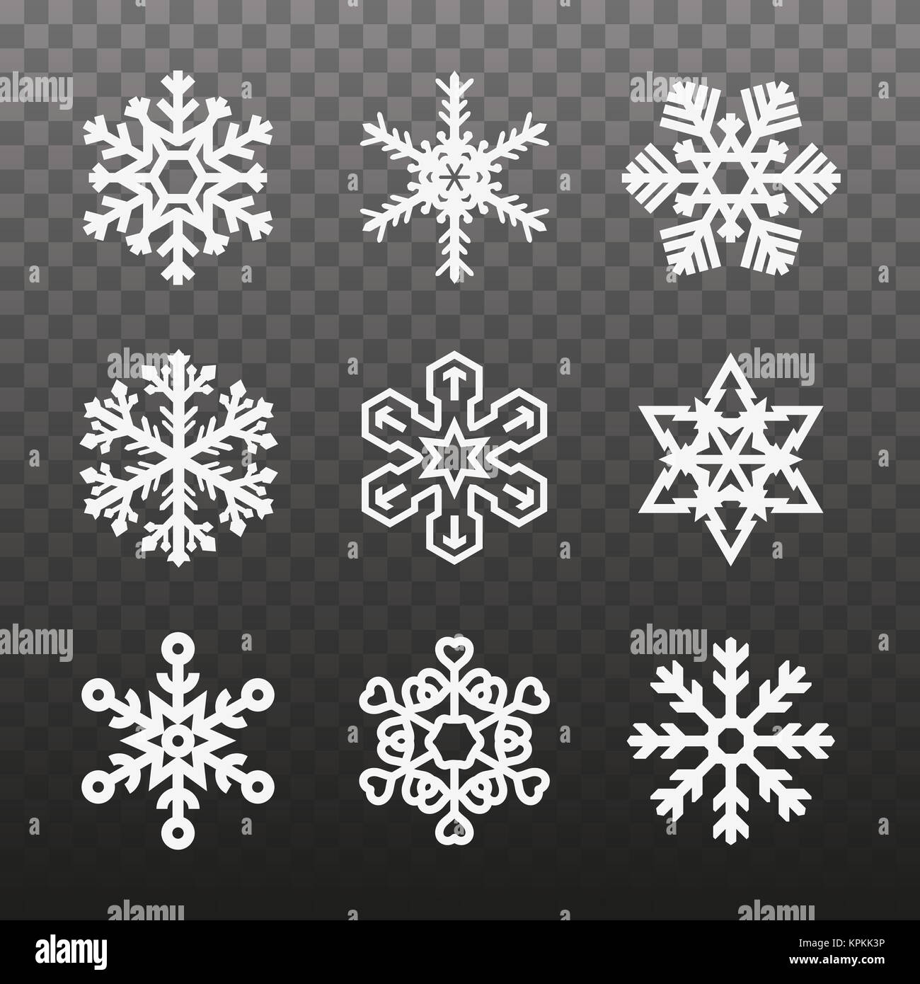 Asterisk symbol stock photos asterisk symbol stock images alamy several different types of snowflakes snowflakes of different shapes on a plaid transparent background biocorpaavc Image collections