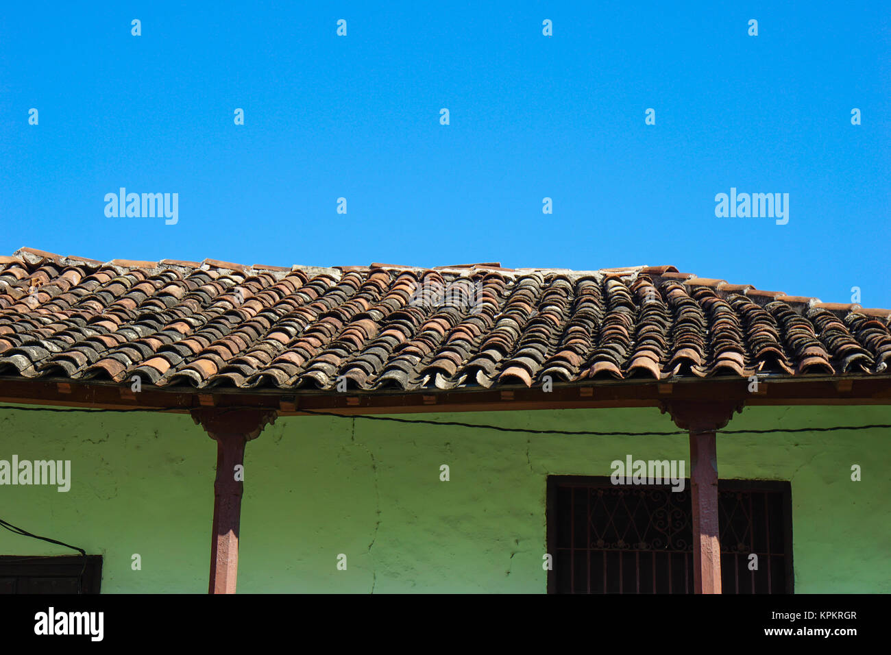 House With Tiled Roof Stock Photos Amp House With Tiled Roof