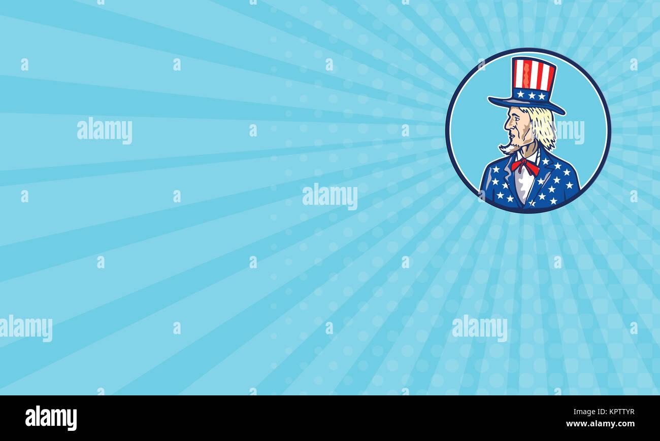 American Uncle Sam Man Cartoon Stock Photos & American Uncle Sam ...