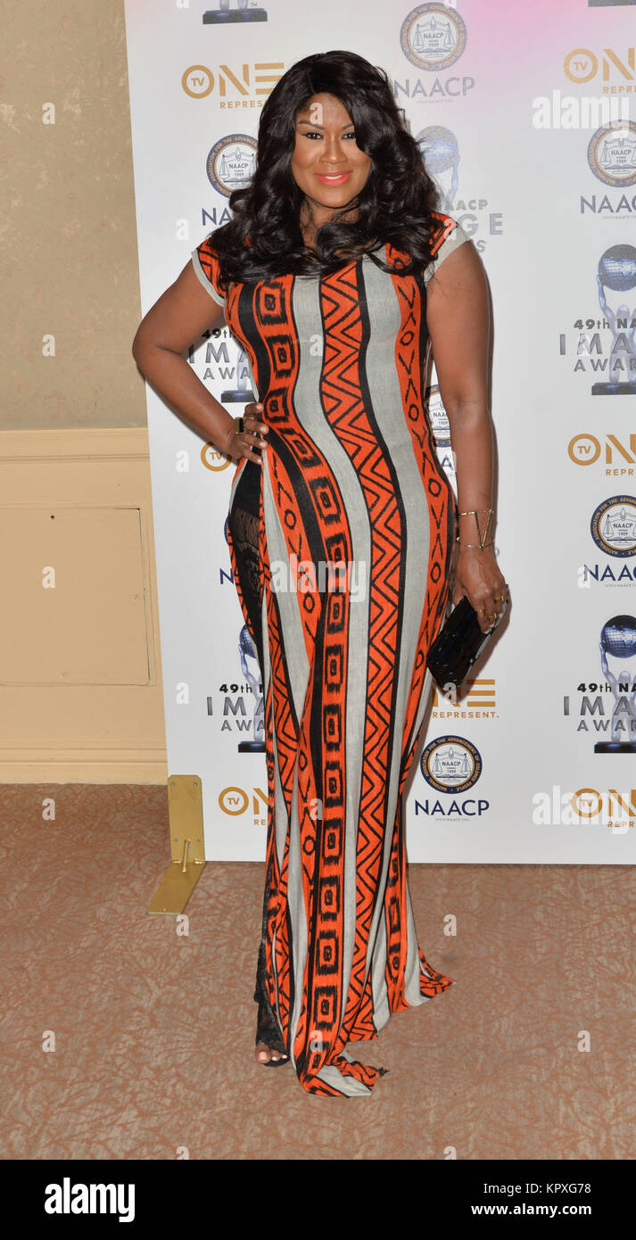 Diann Valentine At The 49th NAACP Image Awards Nomineesu0027 Luncheon At The  Beverly Hilton Hotel In Beverly Hills, California On December 16